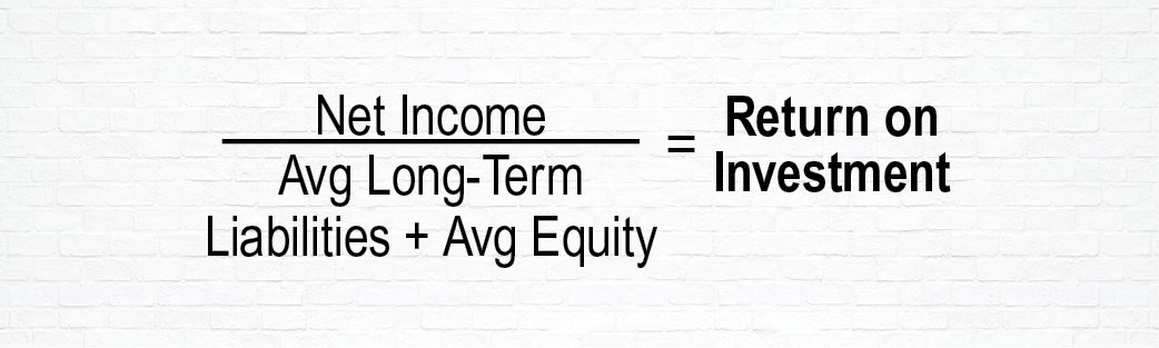 Equation to Determine Return on Investment