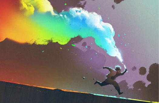 Image for Rainbow Colored Smoke!