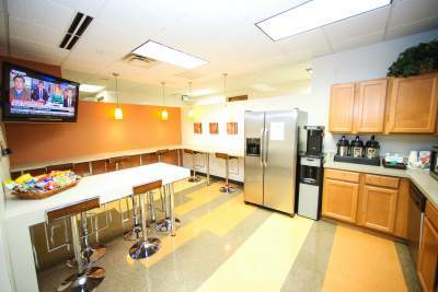 Kitchen + Break Room