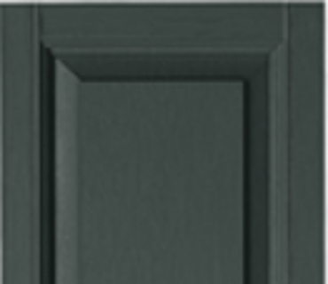 STANDARD RAISED PANEL SHUTTER - BLACKWATCH GREEN