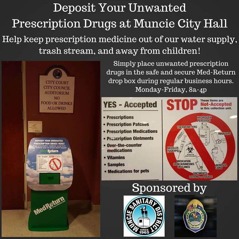 Deposit Unwanted Drugs infographic