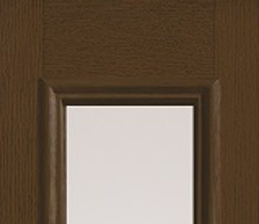 THREE QUARTER GLASS WOOD GRAIN SIDELIGHT