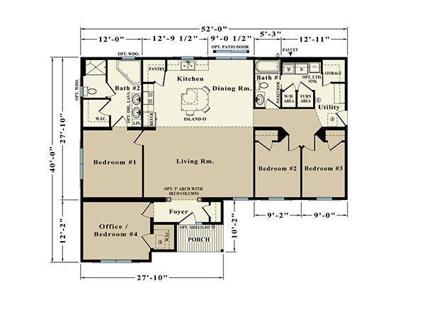 Melbourne ER-30 Floor Plan