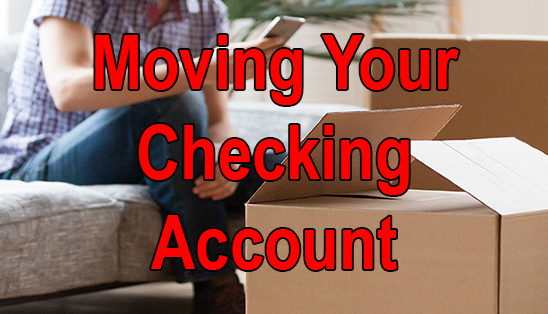 Image for Moving Your Checking Account