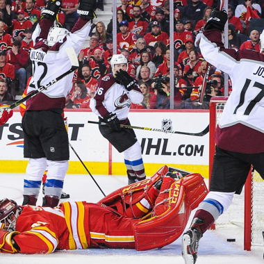 Image for Flames' lack of scoring from top line led to playoff elimination