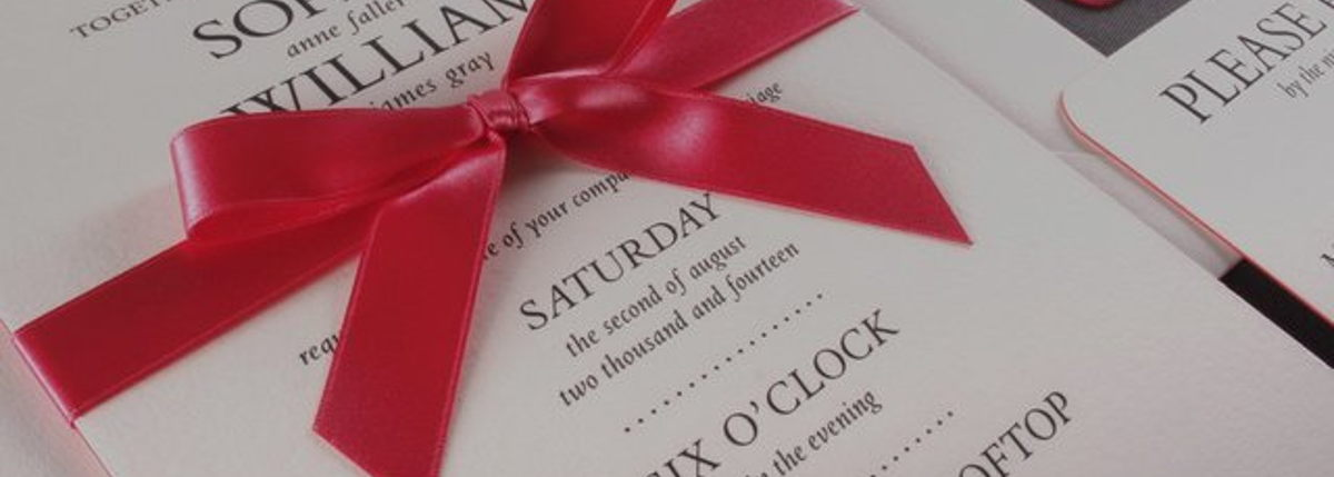 Image for Sophisticated Invitations and Wedding Stationery!