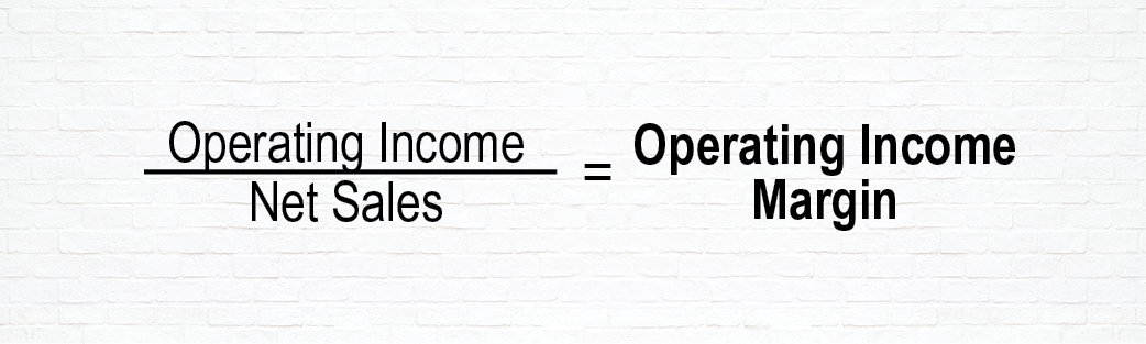 Equation to Determine Operating Income Margin