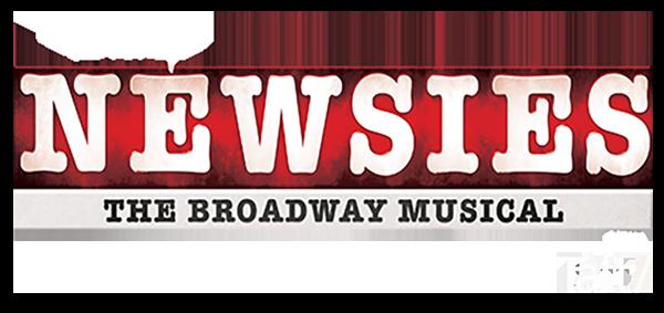 logo for Disney's NEWSIES