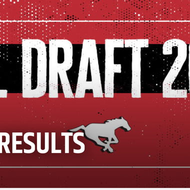 Image for STAMPS SELECT NINE PLAYERS IN CFL DRAFT
