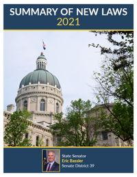 2021 Summary of New Laws - Sen. Bassler