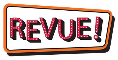 Logo for REVUE!