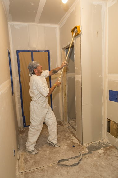 Smoothing Out Drywall