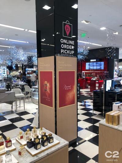 Online Order Pickup Wayfinding Signage - Retail