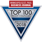 Logo for Top 100 Private Companies in Minnesota 2018