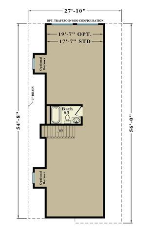Second Floor Blueprint for Tiptown