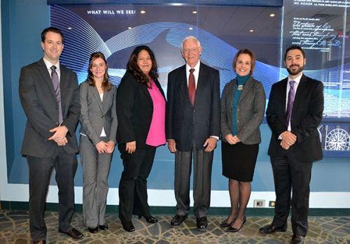 A group of Borst Fellowship recipients.