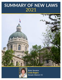 2021 Summary of New Laws - Sen. Rogers