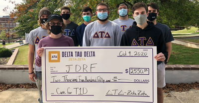 Delts Serve Community During COVID-19 Pandemic
