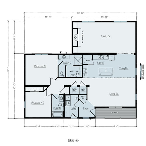 Floorplan of Sandusky Series