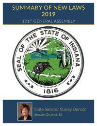 2019 Summary of New Laws - Sen. Donato