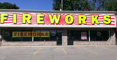 Image of Banner Fireworks 6x60 Vinyl