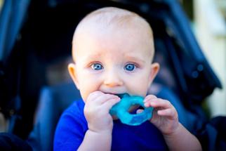 Image of baby teething