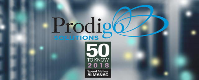 Prodigo selected as a top '50 To Know' award winner in 2018