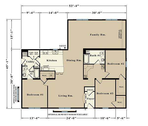 Queensland EJR-38A Floor Plan