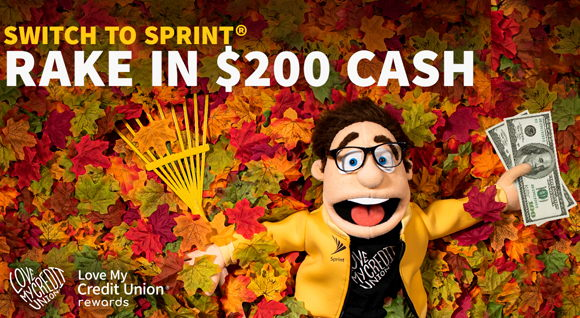 Image for Member Perk: Get Cash Rewards with Sprint