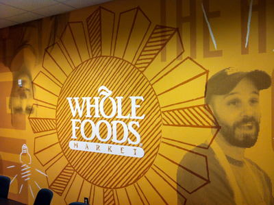 Whole Foods Office Decor