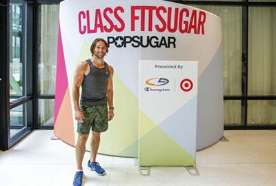 Fitness Pop-Up Event Podium