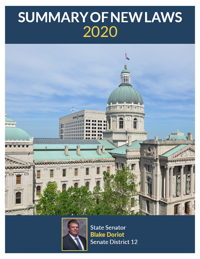 2020 Summary of New Laws - Sen. Doriot