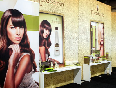 Cosmoprof Vegas Event Booth
