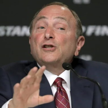 Image for Despite Raps' success, Bettman can't see basketball becoming Canada's top sport
