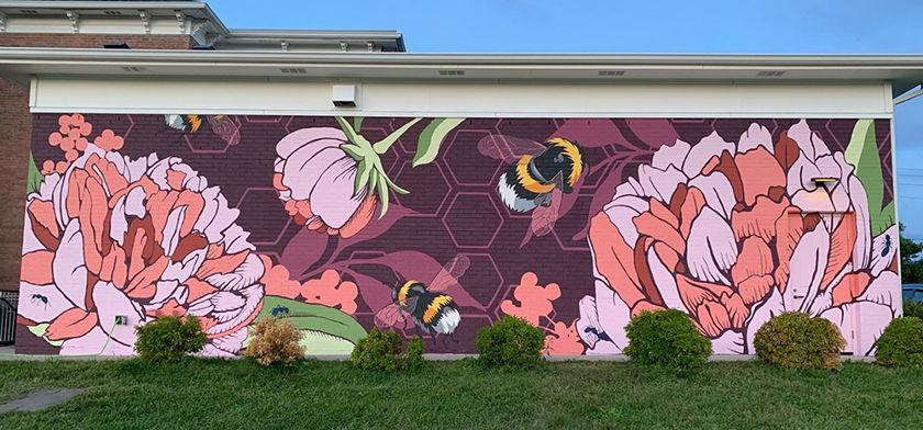 2019 Trafalgar mural