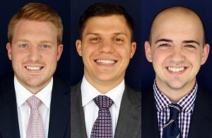 Zach Pasker, Andrew Schreiner, Josh Clayton