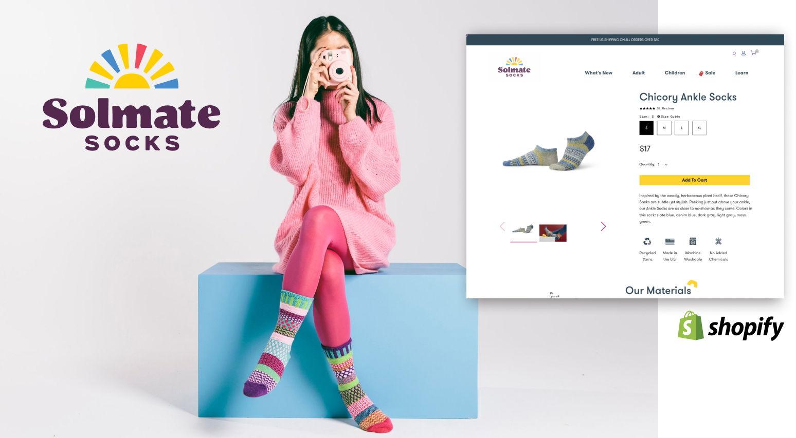 Solmate Socks - Shopify