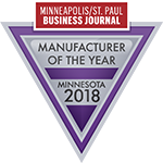 Logo for Minnesota Manufacturer of the Year 2018