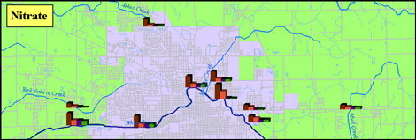 BWQ Nitrate Map image