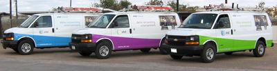 Service Van Fleet Graphics