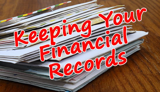 Image for Keeping (and Organizing!) Your Financial Records
