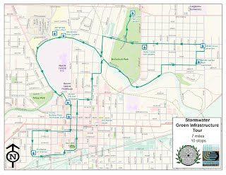 BMP Bike Tour Map image