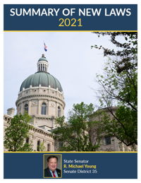 2021 Summary of New Laws - Sen. Young