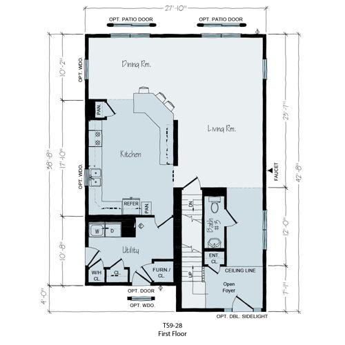 Floorplan of Lake Terrace