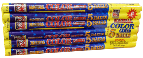Image for Magical Roman Candle 5-ball