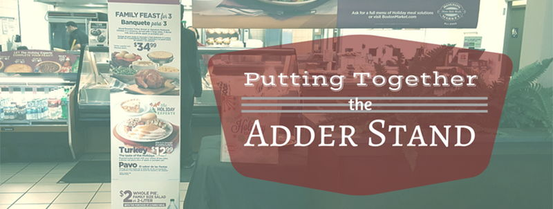 Image for Putting Together the Adder Stand