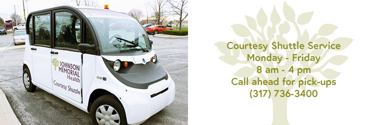 The Courtesy Shuttle service is offered to our guests Monday - Friday, 8 am - 4 pm.