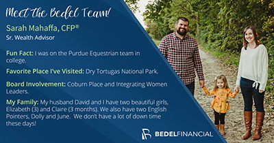 Meet Sarah Mahaffa, CFP® | Meet the BEdel Team