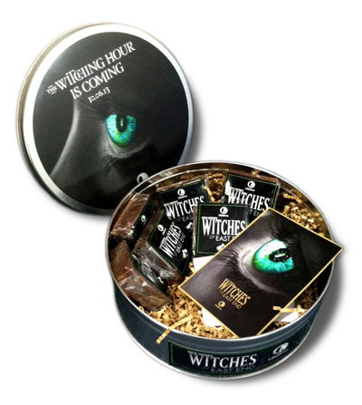 Circle Tin with Custom Printed Collateral