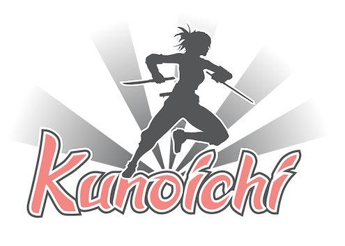 Logo for Kunoichi